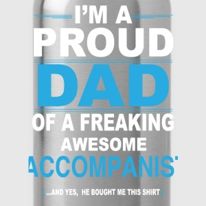 dad ACCOMPANIST son T-Shirts - Water Bottle