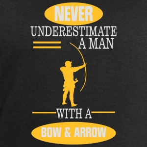 A MAN NEVER UNDERESTIMATE WITH BOW AND ARROW! Sports wear - Men's Sweatshirt by Stanley & Stella
