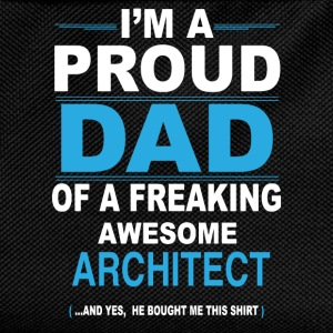 dad ARCHITECT son T-Shirts - Kids' Backpack