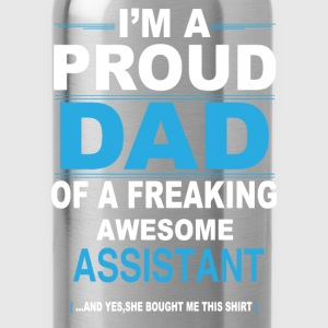dad ASSISTANT daughter T-Shirts - Water Bottle