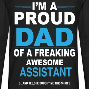 dad ASSISTANT daughter T-Shirts - Men's Premium Longsleeve Shirt