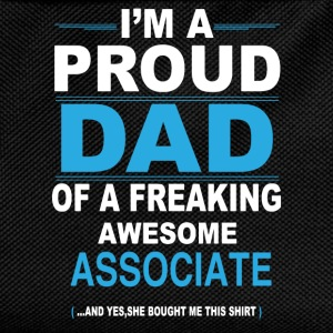 dad ASSOCIATE daughter T-Shirts - Kids' Backpack