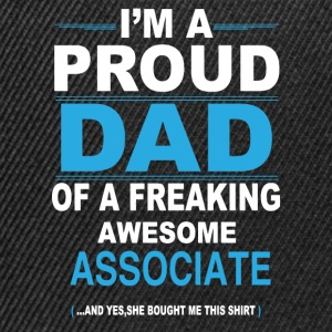 dad ASSOCIATE daughter T-Shirts - Snapback Cap