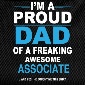 dad ASSOCIATE son T-Shirts - Kids' Backpack