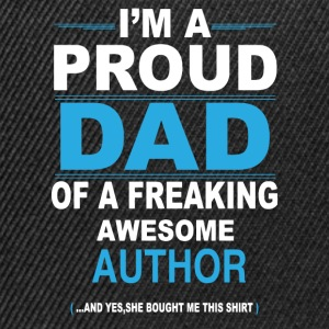 dad AUTHOR daughter T-Shirts - Snapback Cap