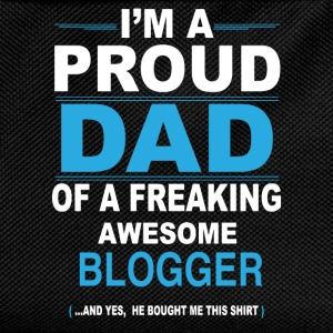 dad BLOGGER son T-Shirts - Kids' Backpack