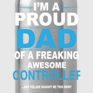 dad CONTROLLER daughter T-Shirts - Water Bottle
