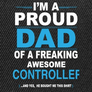 dad CONTROLLER son T-Shirts - Snapback Cap