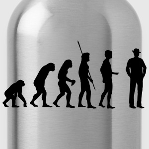 evolution Gangster T-Shirts - Water Bottle