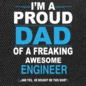 dad ENGINEER son T-Shirts - Snapback Cap