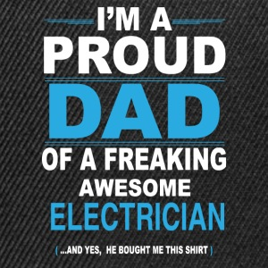 dad ELECTRICIAN son T-Shirts - Snapback Cap