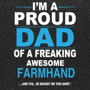 dad FARMHAND son T-Shirts - Snapback Cap