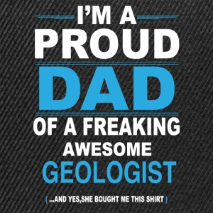 dad GEOLOGIST daughter T-Shirts - Snapback Cap