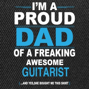 dad GUITARIST daughter T-Shirts - Snapback Cap