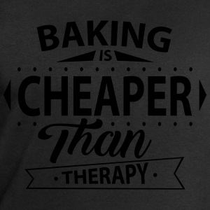 Baking Is Cheaper Than Therapy T-Shirts - Men's Sweatshirt by Stanley & Stella