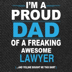 dad LAWYER daughter T-Shirts - Snapback Cap