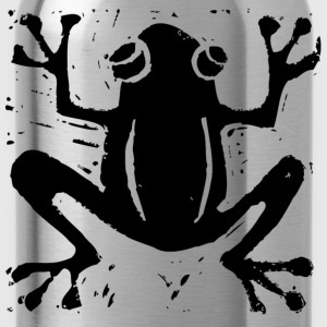 Crafty Wotnots Tree Frog Shirts - Water Bottle