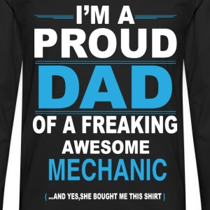 dad MECHANIC daughter T-Shirts - Men's Premium Longsleeve Shirt