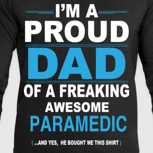 dad PARAMEDIC son T-Shirts - Men's Sweatshirt by Stanley & Stella