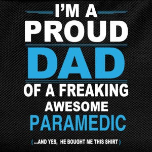 dad PARAMEDIC son T-Shirts - Kids' Backpack