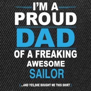 dad SAILOR daughter T-Shirts - Snapback Cap
