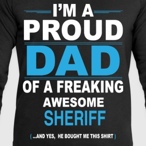 dad SHERIFF son T-Shirts - Men's Sweatshirt by Stanley & Stella