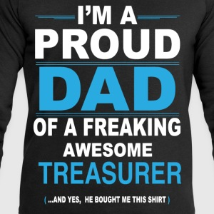 dad TREASURER son T-Shirts - Men's Sweatshirt by Stanley & Stella
