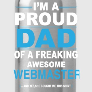 dad WEBMASTER daughter T-Shirts - Water Bottle