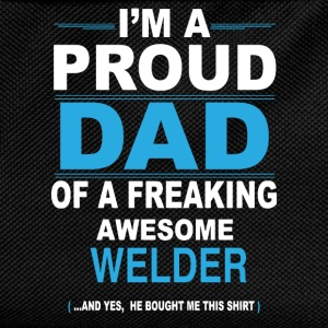 dad WELDER son T-Shirts - Kids' Backpack
