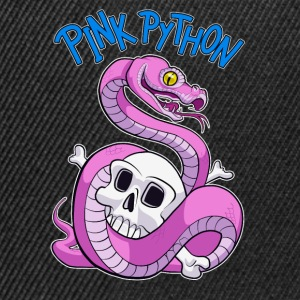 Pink Python (Blue) Tee shirts - Casquette snapback