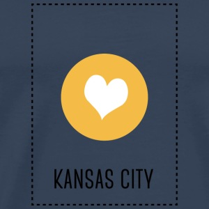 I Love Kansas City Autres - T-shirt Premium Homme