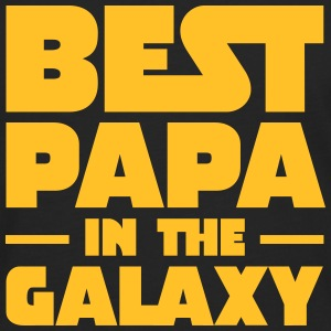 Best Papa In The Galaxy Tee shirts - T-shirt manches longues Premium Homme