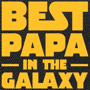 Best Papa In The Galaxy Tee shirts - Casquette snapback