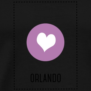 I Love Orlando Long Sleeve Shirts - Men's Premium T-Shirt