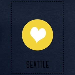 I Love Seattle Manches longues - Sweat-shirt Homme Stanley & Stella