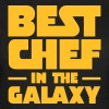 Best Chef In The Galaxy T-shirts - Vrouwen T-shirt