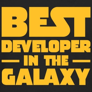 Best Developer In The Galaxy Tee shirts - T-shirt manches longues Premium Homme