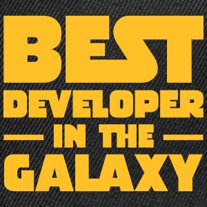 Best Developer In The Galaxy Tee shirts - Casquette snapback