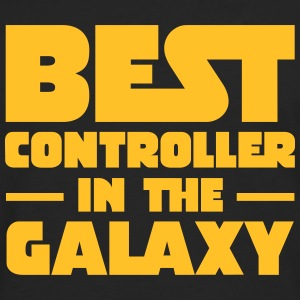 Best Controller In The Galaxy T-shirts - Herre premium T-shirt med lange ærmer
