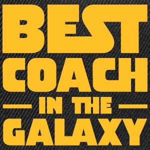 Best Coach In The Galaxy T-Shirts - Snapback Cap