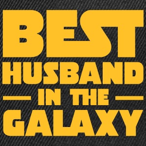 Best Husband In The Galaxy Magliette - Snapback Cap