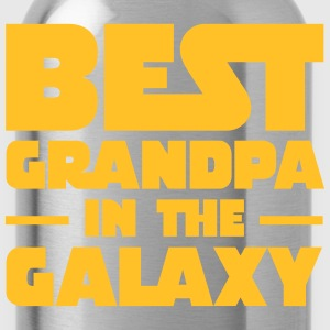 Best Grandpa In The Galaxy T-Shirts - Trinkflasche
