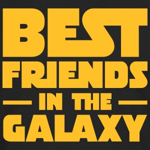 Best Friends In The Galaxy T-shirts - Herre premium T-shirt med lange ærmer
