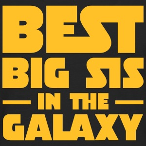 Best Big Sis In The Galaxy T-shirts - Långärmad premium-T-shirt herr