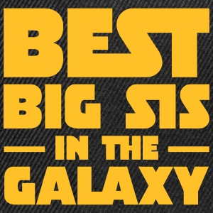 Best Big Sis In The Galaxy T-Shirts - Snapback Cap