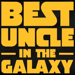 Best Uncle In The Galaxy T-skjorter - Ryggsekk for barn