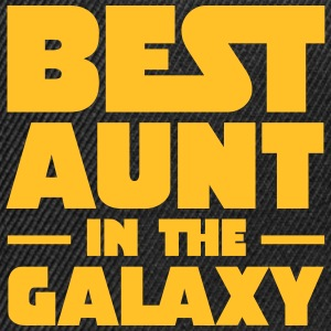 Best Aunt In The Galaxy T-Shirts - Snapback Cap