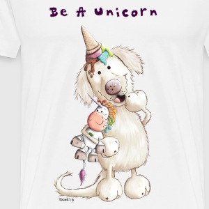 Be A Unicorn Tabliers - T-shirt Premium Homme