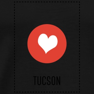 I Love Tucson Long Sleeve Shirts - Men's Premium T-Shirt