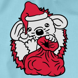 baby christmas santa claus nicholas winter gifts s T-Shirts - Drawstring Bag